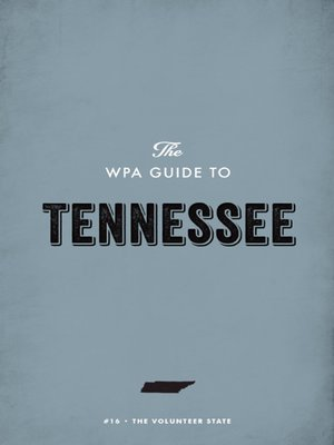 cover image of The WPA Guide to Tennessee